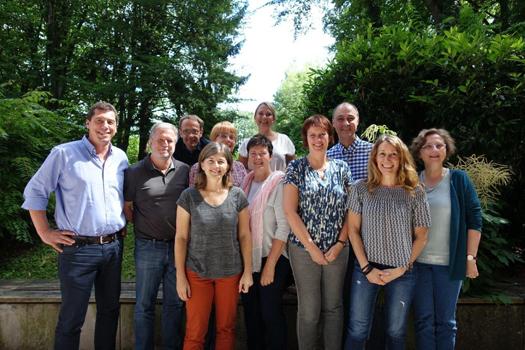 Zufriedene Teilnehmerinnen und Teilnehmer der Ausbildung zum klinischen Risikomanager vom Juni/Juli 2017 in Herrsching am Ammersee