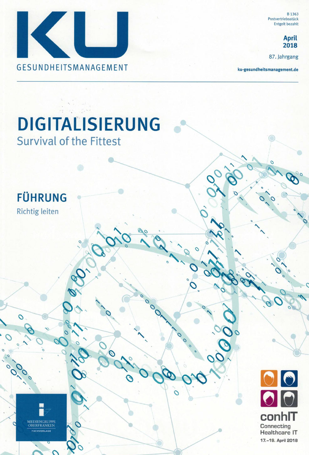 KU Gesundheitsmanagement Titel April 2018 Digitalisierung