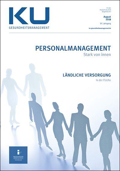 Titel Gesundheitsmanagement 2018 August Personalmanagement Artikel: Personalbezogene Risikomanagement